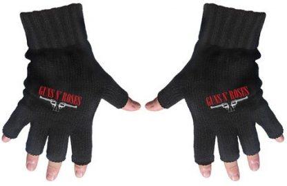 Guns N roses fingerless gloves
