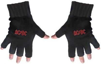 acdc fingerless gloves