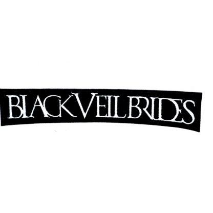 black veil brides logo strip patch