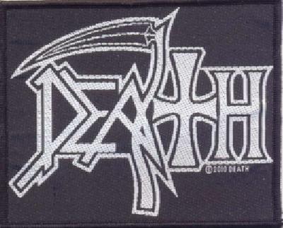 death white logo
