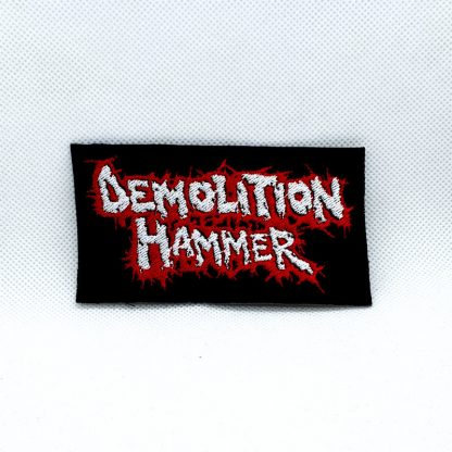 demolition hammer red white