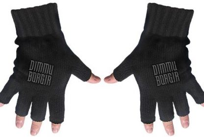 dimmu borgir fingerless gloves