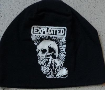 exploited printed skull