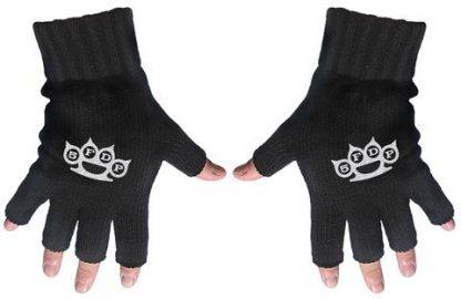 five finger death punch fingerless gloves