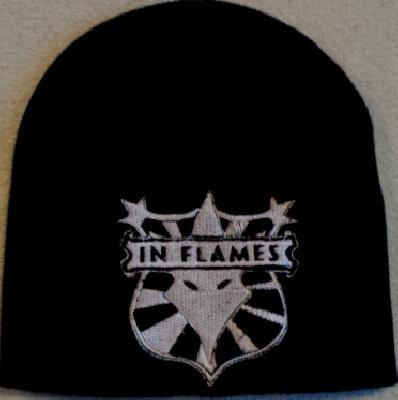 in flames shield logo
