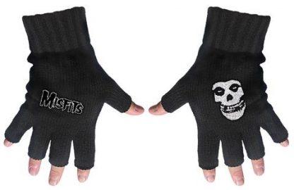 misfits fingerless gloves