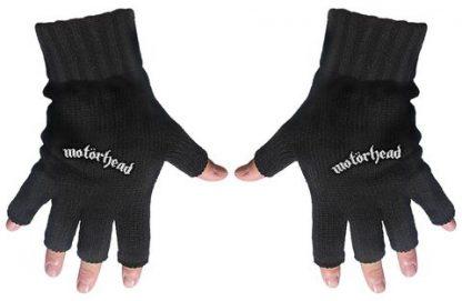 motorhead fingerless gloves