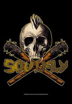 soulfly skull flag