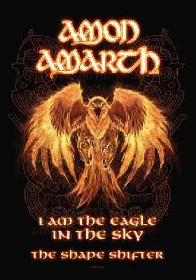 Amon amarth burning eagle flag