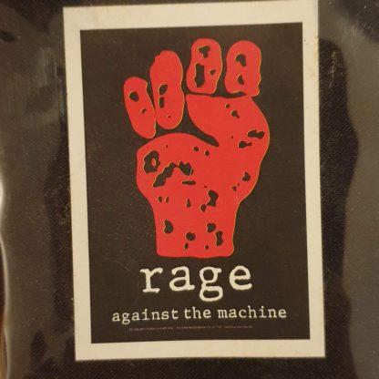Rage against the machine fist flag 1994