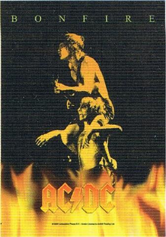 acdc bonfire flag
