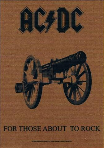 acdc for those about to rock flag