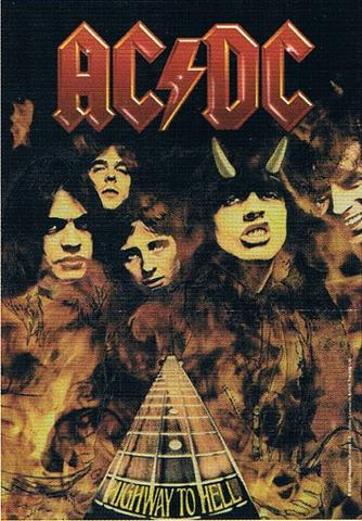 acdc highway to hell flag