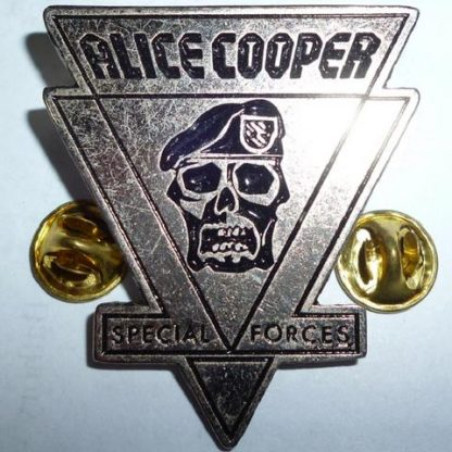 alice cooper special forces pin