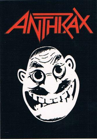 anthrax not man flag