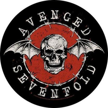 avenged sevenfold distressed skull