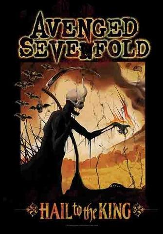 avenged sevenfold hail to the king reaper flag