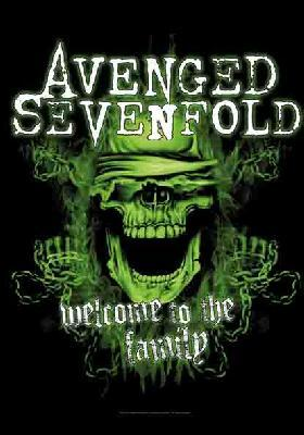 avenged sevenfold welcome to the family flag