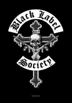 black label society doon crew flag
