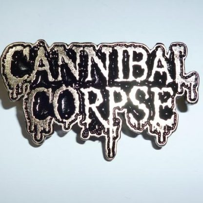 cannibal corpse logo pin