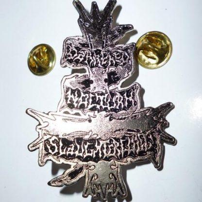 darkened nocturn slaughtercult pin