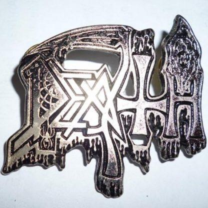 death old logo pin