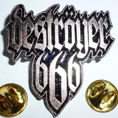 destroyer 666 logo pin