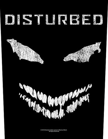 disturbed face