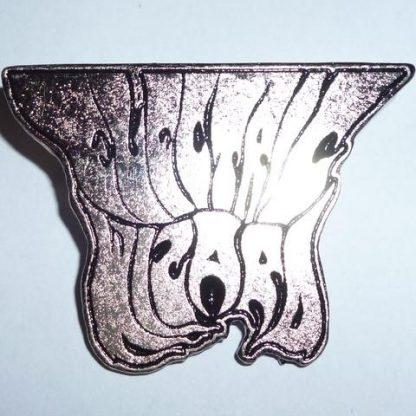 electric wizard logo pin