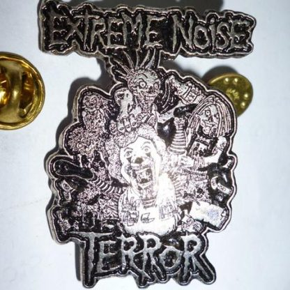 extreme noise terror in it for life pin