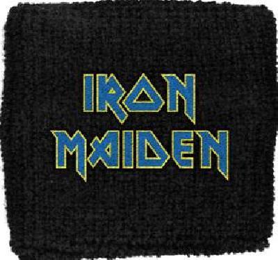 iron maiden logo flight blue