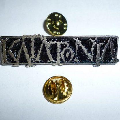katatonia old logo pin