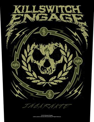 killswitch engage skull wreath