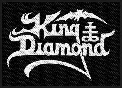 king diamond white logo