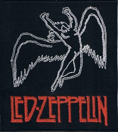 led zeppeling swansong logo