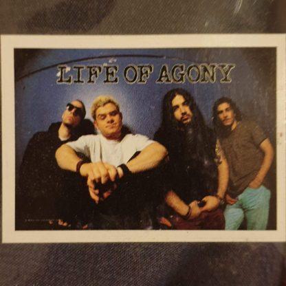 life of agony band flag 1994