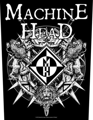machine head crest new