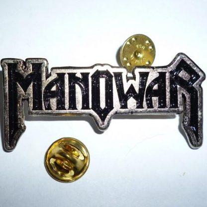 manowar logo pin