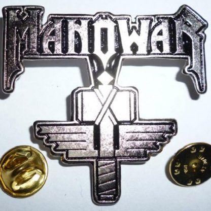 manowar sign of the hammer pin