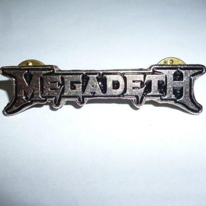 megadeth logo pin