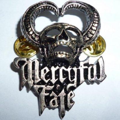 mercyful fate 9 skull 3d pin