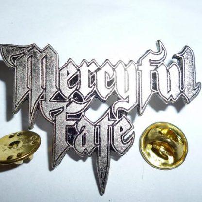 mercyful fate new logo pin