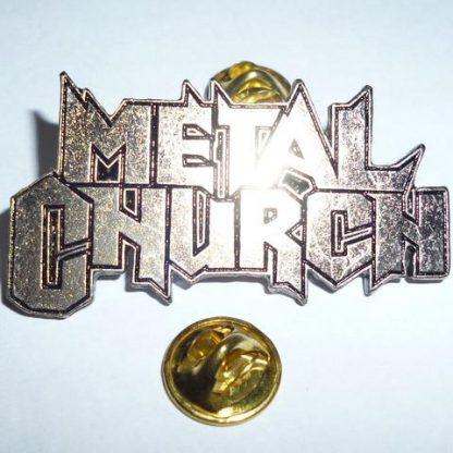 metal church pin