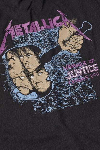 Metallica Damaged Justice Hm Back