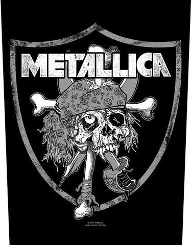 metallica raiders skull