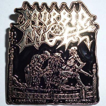 morbid angel abominations ofdesolation pin