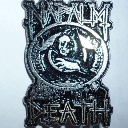 napalm death fear logo pin
