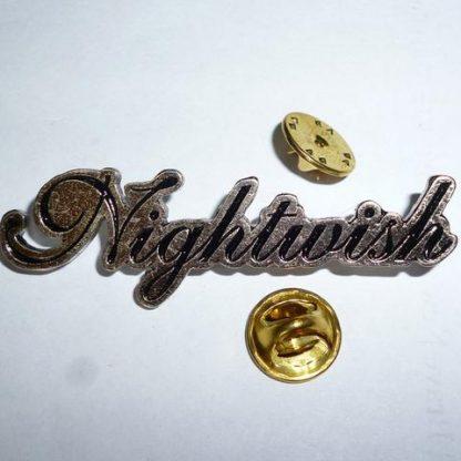 nightwish logo pin