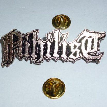 nihilist logo pin