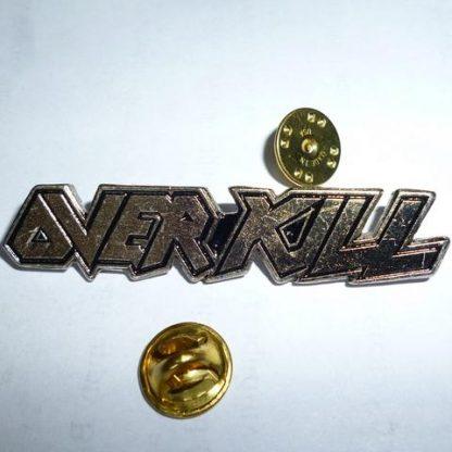 Overkill Logo Pin